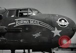 Image of B-25 Mitchell bomber Assam India, 1944, second 7 stock footage video 65675075016