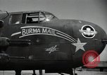 Image of B-25 Mitchell bomber Assam India, 1944, second 8 stock footage video 65675075016