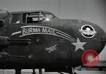Image of B-25 Mitchell bomber Assam India, 1944, second 10 stock footage video 65675075016