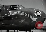 Image of B-25 Mitchell bomber Assam India, 1944, second 11 stock footage video 65675075016