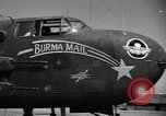 Image of B-25 Mitchell bomber Assam India, 1944, second 12 stock footage video 65675075016