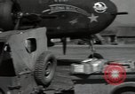 Image of B-25 Mitchell bomber Assam India, 1944, second 9 stock footage video 65675075017