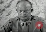 Image of Dwight Eisenhower United States USA, 1943, second 4 stock footage video 65675075066