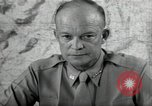 Image of Dwight Eisenhower United States USA, 1943, second 5 stock footage video 65675075066
