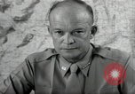 Image of Dwight Eisenhower United States USA, 1943, second 6 stock footage video 65675075066
