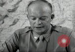 Image of Dwight Eisenhower United States USA, 1943, second 7 stock footage video 65675075066