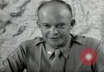 Image of Dwight Eisenhower United States USA, 1943, second 8 stock footage video 65675075066