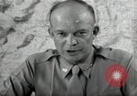 Image of Dwight Eisenhower United States USA, 1943, second 9 stock footage video 65675075066
