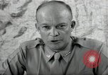 Image of Dwight Eisenhower United States USA, 1943, second 11 stock footage video 65675075066