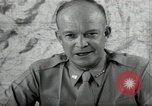 Image of Dwight Eisenhower United States USA, 1943, second 12 stock footage video 65675075066