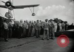 Image of navy personnel Bikini Atoll Marshall Islands, 1946, second 7 stock footage video 65675075074