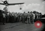 Image of navy personnel Bikini Atoll Marshall Islands, 1946, second 9 stock footage video 65675075074