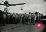 Image of navy personnel Bikini Atoll Marshall Islands, 1946, second 10 stock footage video 65675075074