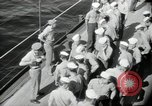 Image of sailors Bikini Atoll Marshall Islands, 1946, second 1 stock footage video 65675075075