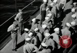 Image of sailors Bikini Atoll Marshall Islands, 1946, second 3 stock footage video 65675075075