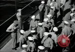 Image of sailors Bikini Atoll Marshall Islands, 1946, second 5 stock footage video 65675075075