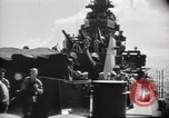 Image of sailors Bikini Atoll Marshall Islands, 1946, second 9 stock footage video 65675075075