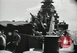 Image of sailors Bikini Atoll Marshall Islands, 1946, second 10 stock footage video 65675075075