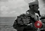 Image of United States sailors Bikini Atoll Marshall Islands, 1946, second 2 stock footage video 65675075076