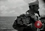 Image of United States sailors Bikini Atoll Marshall Islands, 1946, second 4 stock footage video 65675075076