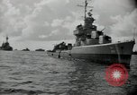 Image of target fleet Bikini Atoll Marshall Islands, 1946, second 11 stock footage video 65675075077