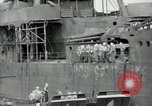 Image of sailors Bikini Atoll Marshall Islands, 1946, second 11 stock footage video 65675075080