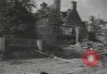 Image of bombed-out buildings Caen France, 1944, second 10 stock footage video 65675075099
