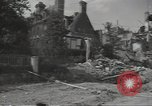 Image of bombed-out buildings Caen France, 1944, second 11 stock footage video 65675075099