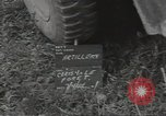 Image of 155mm howitzer Marigny France, 1944, second 6 stock footage video 65675075106