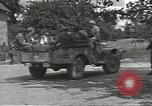 Image of German prisoners Cerisy-la-Foret Normandy France, 1944, second 8 stock footage video 65675075107