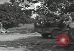 Image of German prisoners Cerisy-la-Foret Normandy France, 1944, second 11 stock footage video 65675075107
