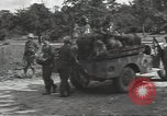 Image of German prisoners Cerisy-la-Foret Normandy France, 1944, second 12 stock footage video 65675075107