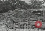Image of United States howitzer Cerisy-la-Foret Normandy France, 1944, second 6 stock footage video 65675075108