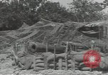 Image of United States howitzer Cerisy-la-Foret Normandy France, 1944, second 8 stock footage video 65675075108