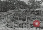 Image of United States howitzer Cerisy-la-Foret Normandy France, 1944, second 9 stock footage video 65675075108