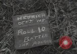Image of cutting through hedgerows with tanks Marigny France, 1944, second 2 stock footage video 65675075114