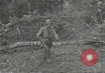 Image of cutting through hedgerows with tanks Marigny France, 1944, second 9 stock footage video 65675075114