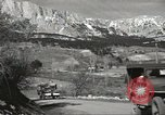 Image of Soviet jeep Yalta Crimea Ukraine, 1945, second 9 stock footage video 65675075141