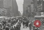Image of parade New York City USA, 1947, second 1 stock footage video 65675075171