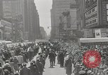 Image of parade New York City USA, 1947, second 2 stock footage video 65675075171