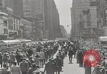 Image of parade New York City USA, 1947, second 4 stock footage video 65675075171