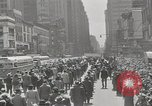 Image of parade New York City USA, 1947, second 5 stock footage video 65675075171
