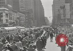 Image of parade New York City USA, 1947, second 6 stock footage video 65675075171