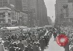 Image of parade New York City USA, 1947, second 7 stock footage video 65675075171