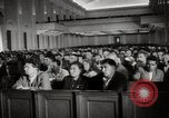 Image of award ceremony Moscow Soviet Union, 1947, second 6 stock footage video 65675075179
