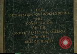 Image of inscribed plaque Washington DC USA, 1990, second 3 stock footage video 65675075212
