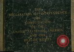 Image of inscribed plaque Washington DC USA, 1990, second 4 stock footage video 65675075212