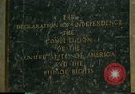 Image of inscribed plaque Washington DC USA, 1990, second 6 stock footage video 65675075212