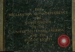 Image of inscribed plaque Washington DC USA, 1990, second 7 stock footage video 65675075212