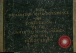 Image of inscribed plaque Washington DC USA, 1990, second 10 stock footage video 65675075212
